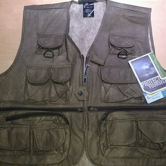 Frogg Toggs Youth Classic50 Vest Large
